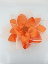 Orange Fascinators